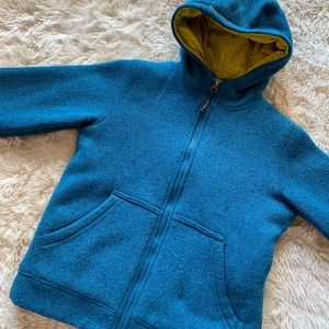 LL Bean Sweater Jacket Boys Size 8